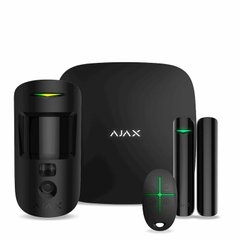 Ajax StarterKit Cam Plus black, Черный, Комплект сигнализации